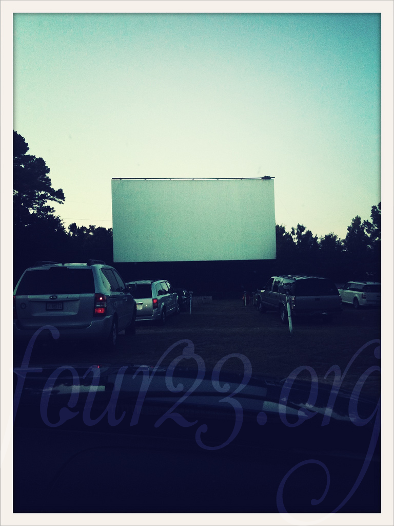 Wating at the drive in