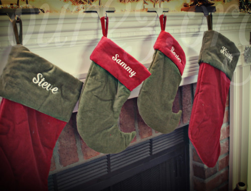 Stocking Were Hung By the Chimney with Care