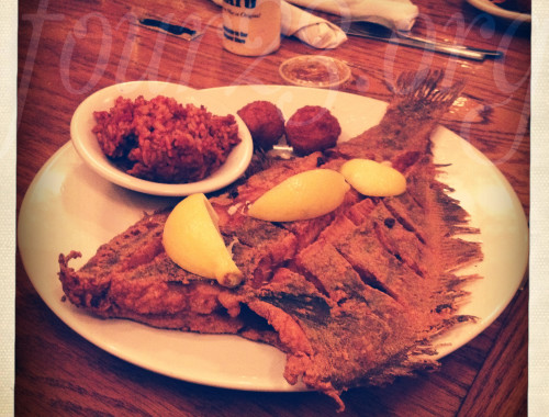 Flounder at Hyman's Seafood