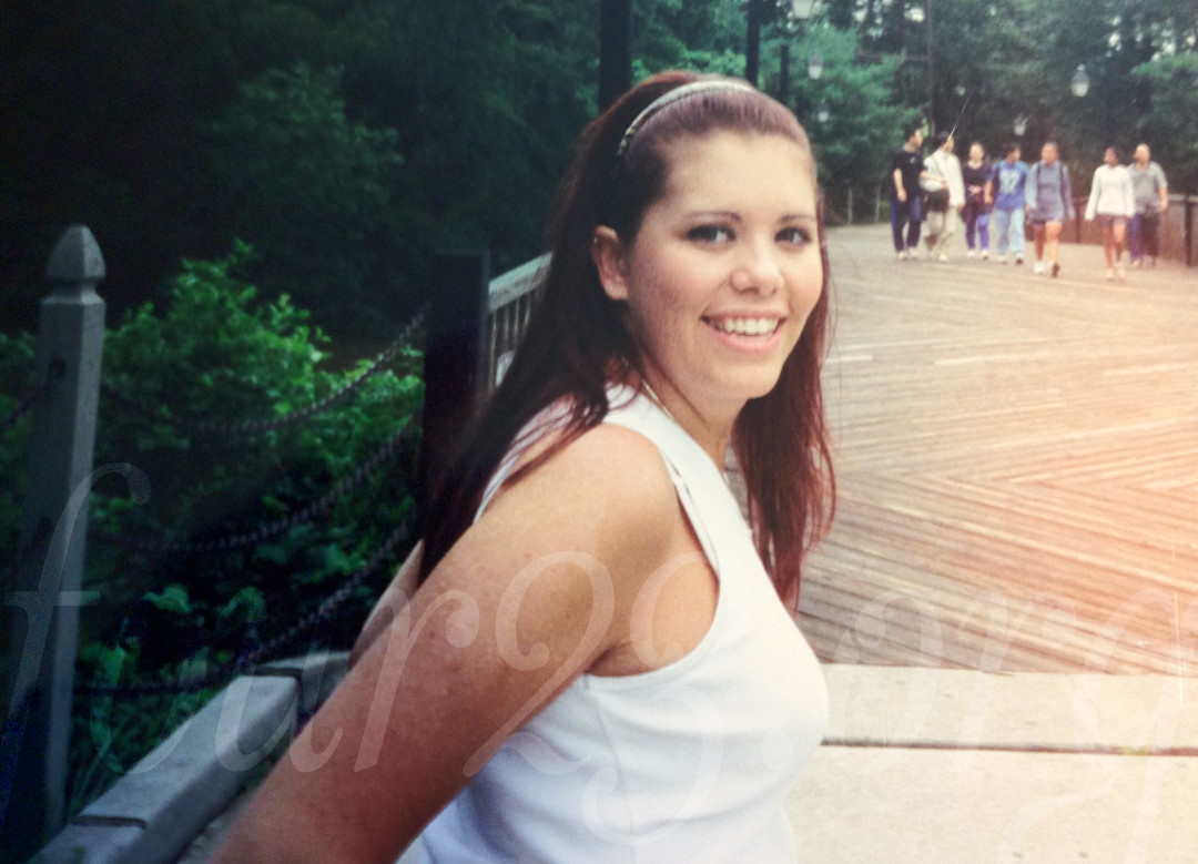 Wayback Wednesday - Kristy at Six Flags